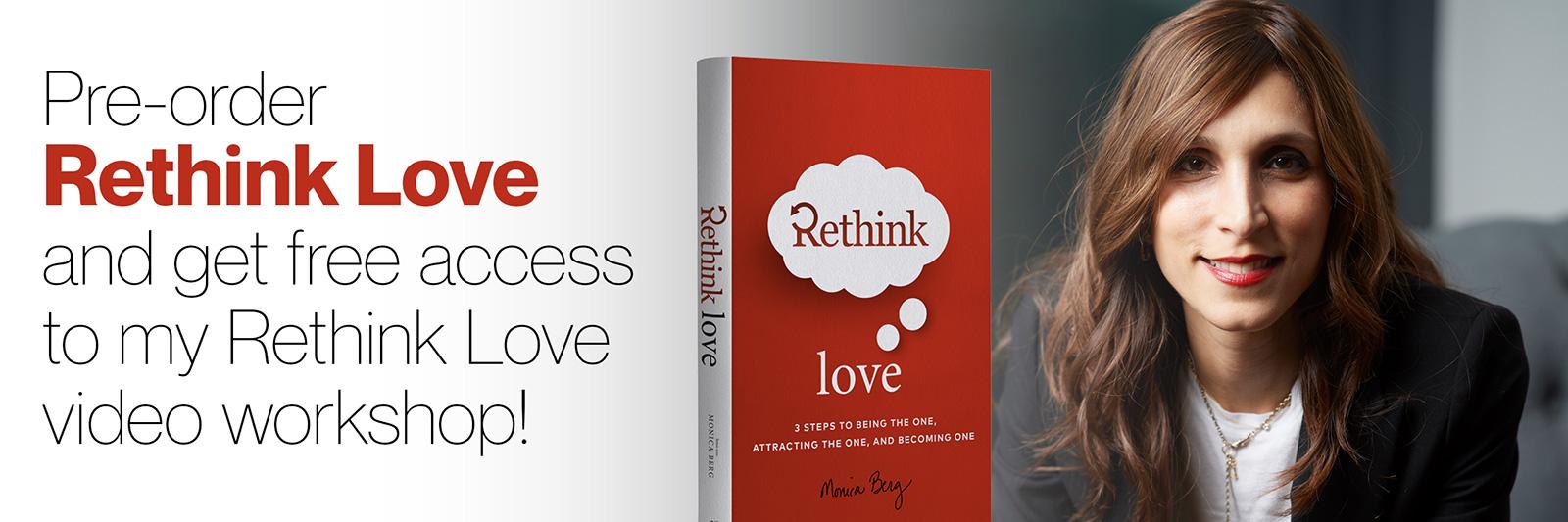 Pre-Order Rethink Love