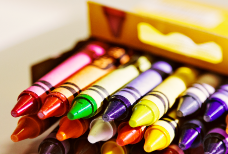 Life is Like a Box of Crayons... I'll take 64 colors please